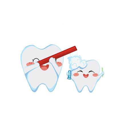 牙齿爱牙日刷牙