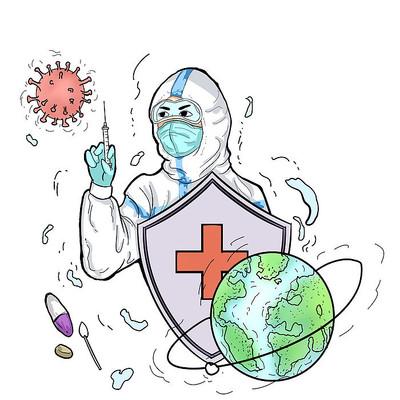 疫情防疫打针疫苗