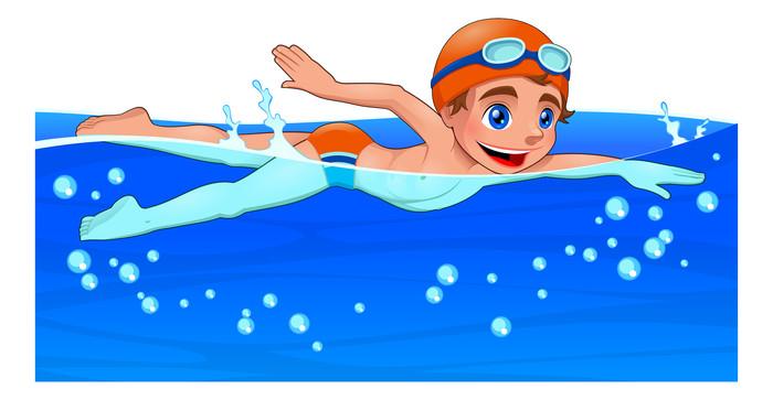 游泳比赛免扣素材