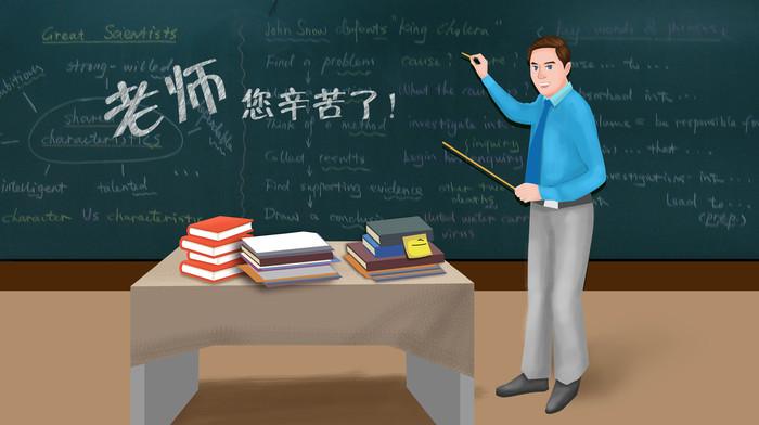 老师上课场景