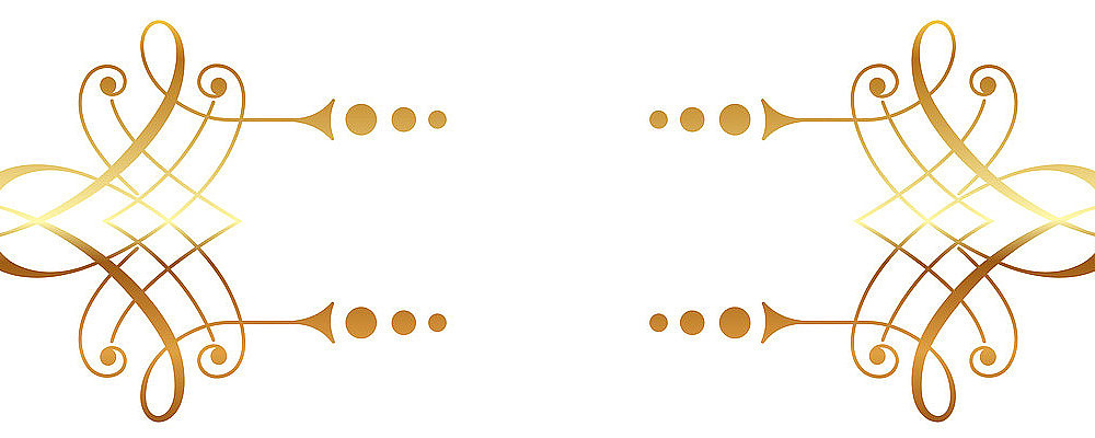 金色边框金色标题框
