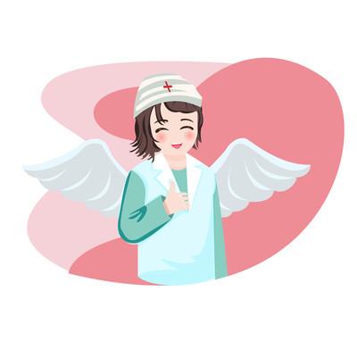 原创元素的护士