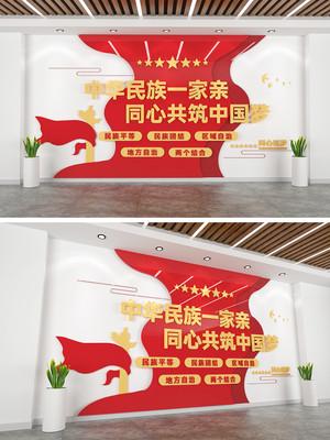 民族团结基层文化墙