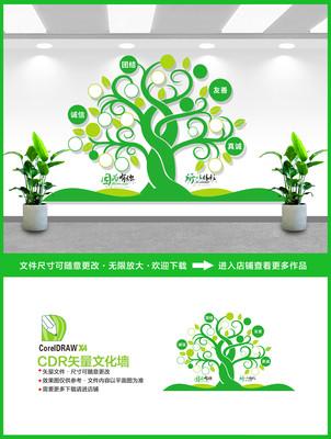 树形企业照片墙