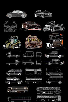 CAD汽车模型