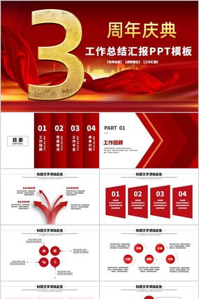 公司周年庆ppt模板活动策划