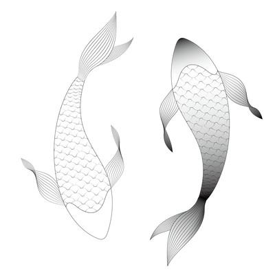 鱼的矢量图