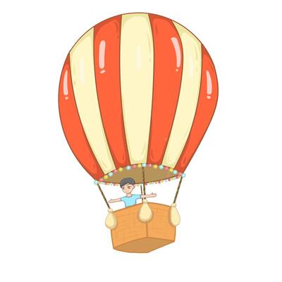 热气球儿童
