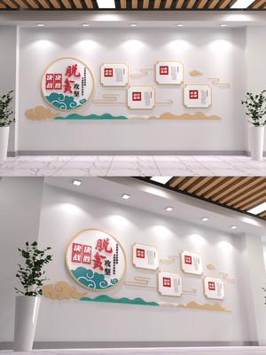 乡村振兴战略党建文化背景墙