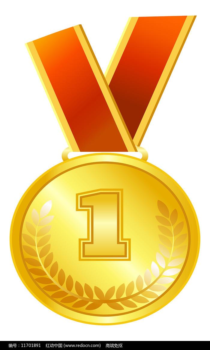 金牌奖状元素图片