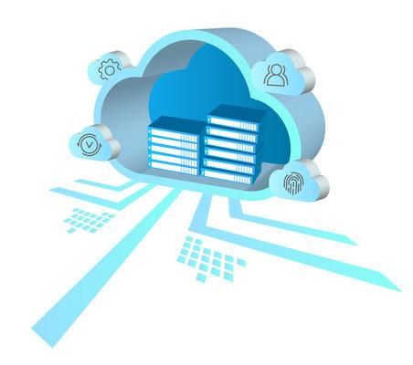 云文档互联网办公设计元素