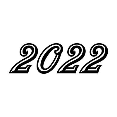 2022艺术字