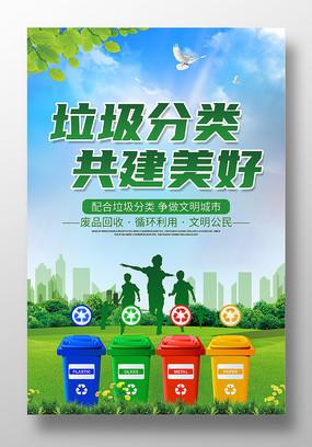 垃圾分类环保宣传海报