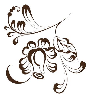 花型装饰图案