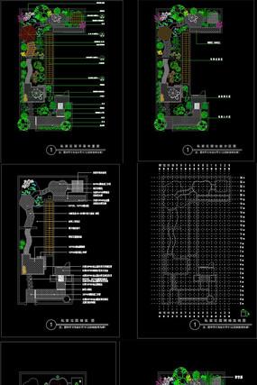 某私家花园环境设计CAD施工图