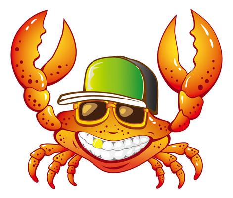 拟人螃蟹表情包