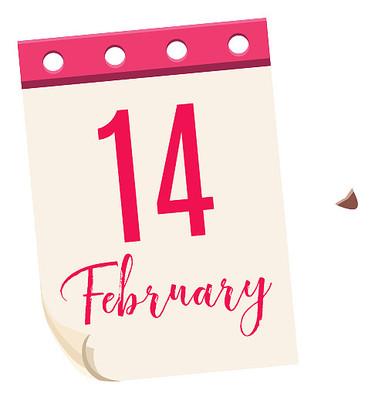情人节日历