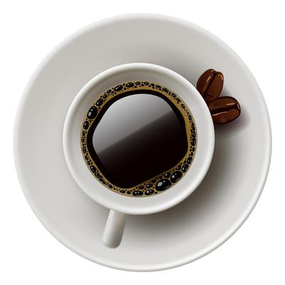 一杯美式咖啡