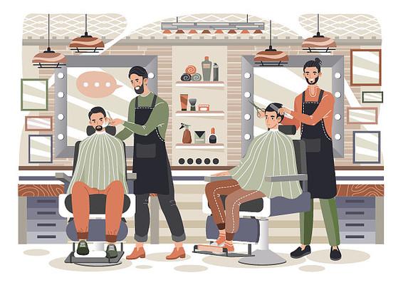 原创时尚造型美发场景