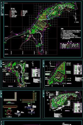 公园景观CAD施工套图