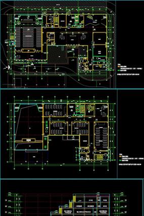 疗养建筑装配式施工图全套完整CAD施工图