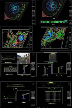 生态公园景观设计全套CAD施工图