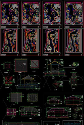 生态湿地公园设计CAD