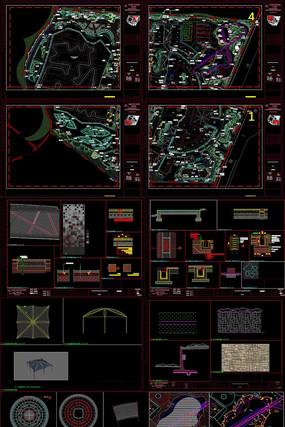 英国主题公园生态文化产业园CAD施工图
