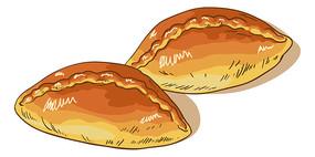 美味的烤面包