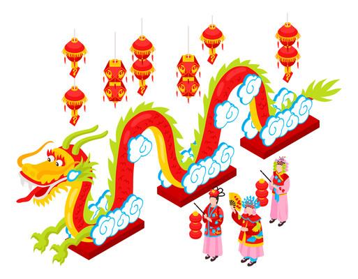 端午龙舟红灯笼装饰
