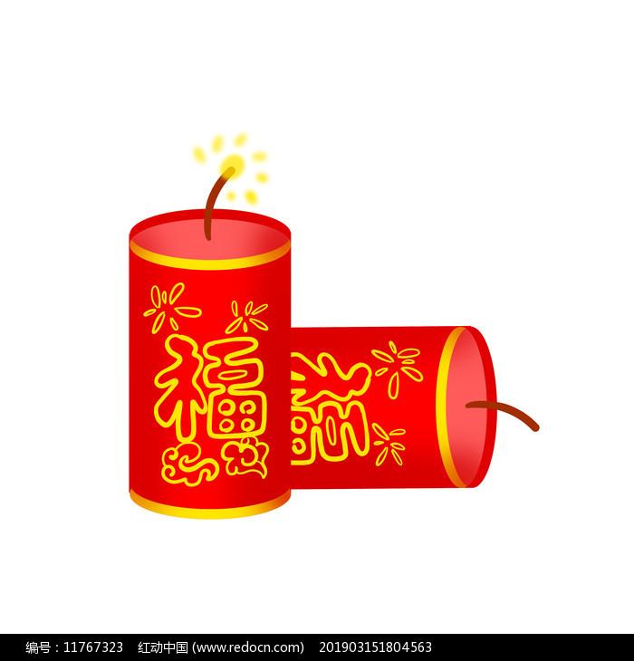 虎年新年鞭炮炮竹图片