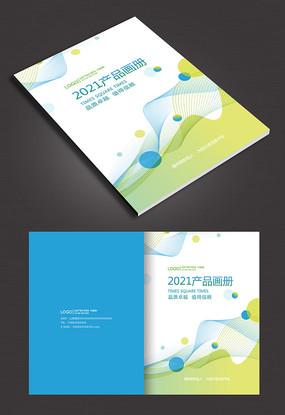 线条创意商务画册封面