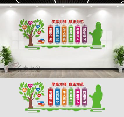 教师办公室文化墙标语