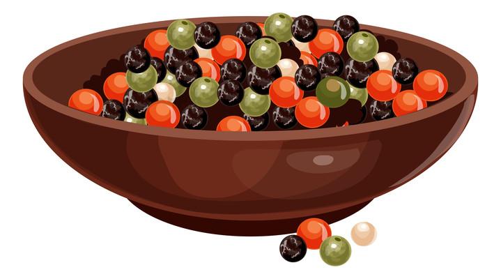 一碗珍珠红豆饮品元素