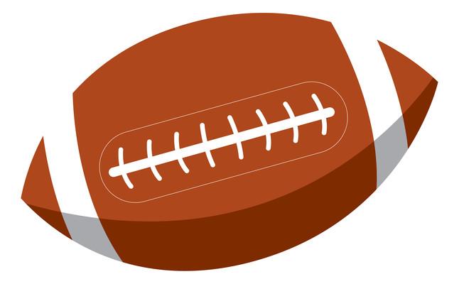 棕色的橄榄球元素