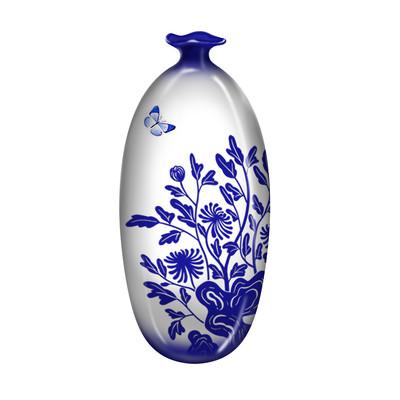 蝴蝶飞飞陶瓷瓷器青花瓷