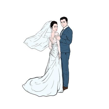 婚礼婚庆结婚 新娘新郎
