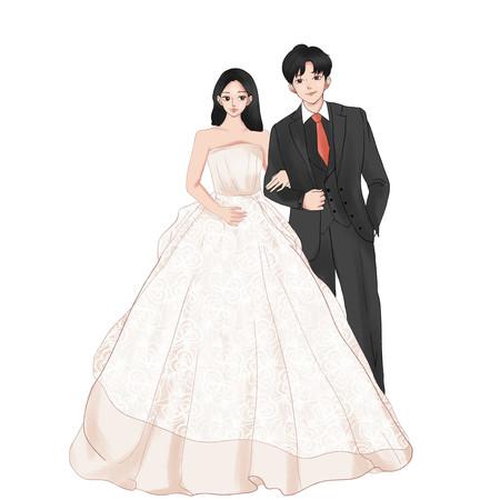 婚礼结婚庆典新娘新郎