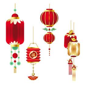 春节新年灯笼