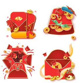 新年春节红包弹窗