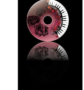 cd光盘盘面设计