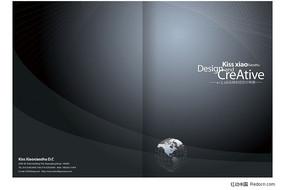 灰色科技画册设计欣赏 画册封面设计