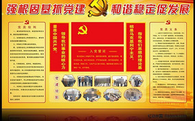 企业党建宣传栏