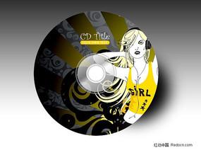 流行音乐cd设计