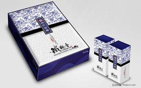 茶叶包装盒(展开图)