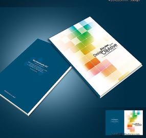 IT行业公司画册设计欣赏 炫彩画册封面