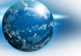 动感逼真地球flash源文件