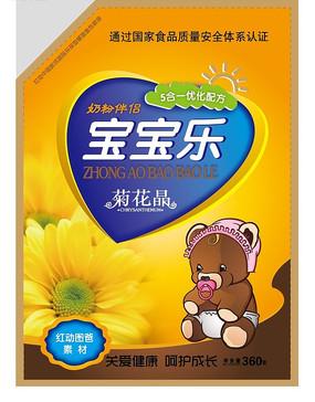 菊花精奶粉伴侣包装袋