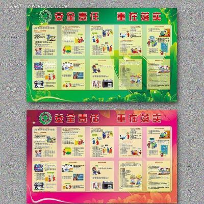 最新2012年安全生产月宣传栏设计