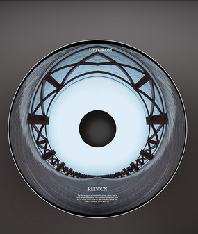 光盘盘面设计